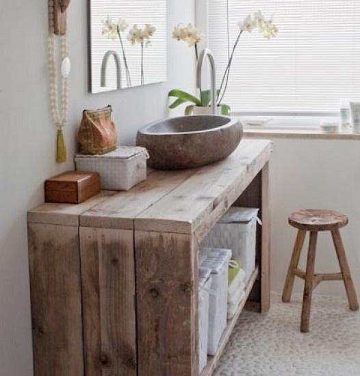 Muebles Para Baño Hechos Con Palets:cuartos de baño increíbles decorados con palets – I Love Palets