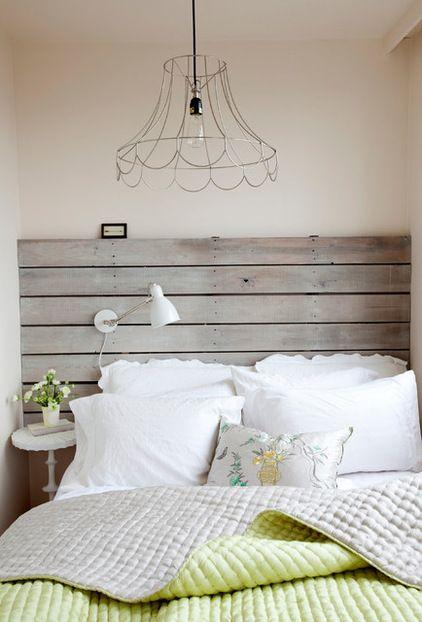 Cabecero de cama con palets i love palets - Cabeceros hechos con palets ...