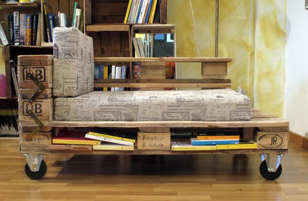 chaise longue de palets