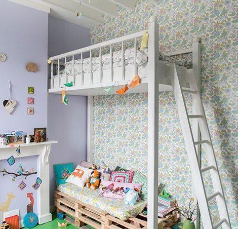 5 ideas de literas para ni os de palets divertidas y for Literas originales para un cuarto juvenil