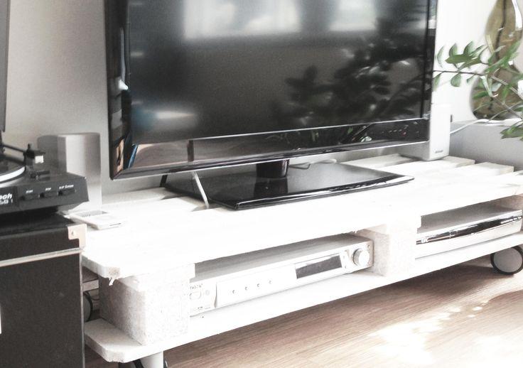 Palets Para Un Mueble De Televisi N I Love Palets