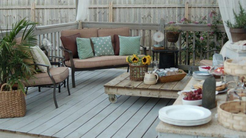 terrazas con palets
