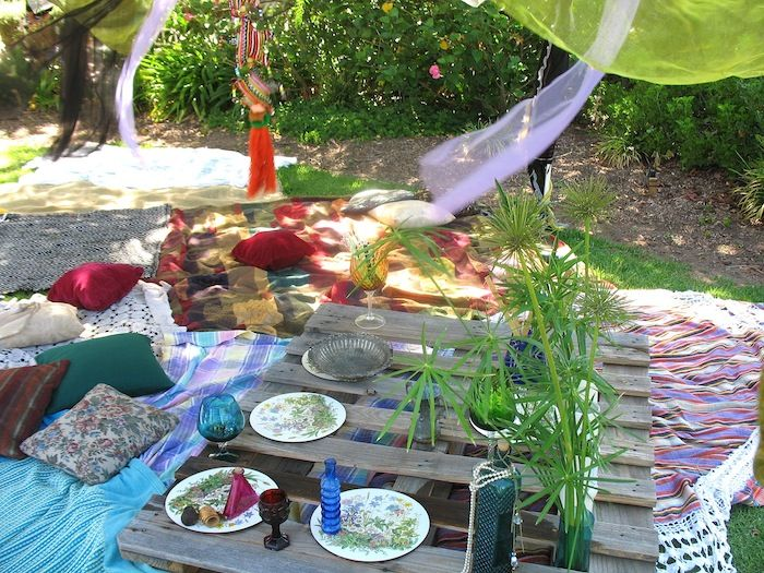 picnic de palet