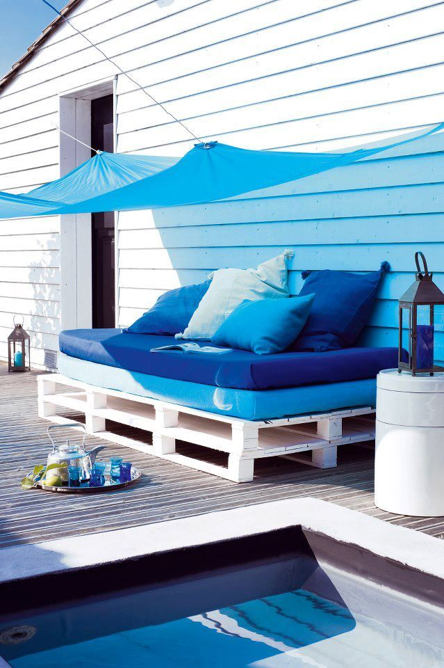 10 ideas inspiradoras para una terraza de ensue o i love for Espacios chill out