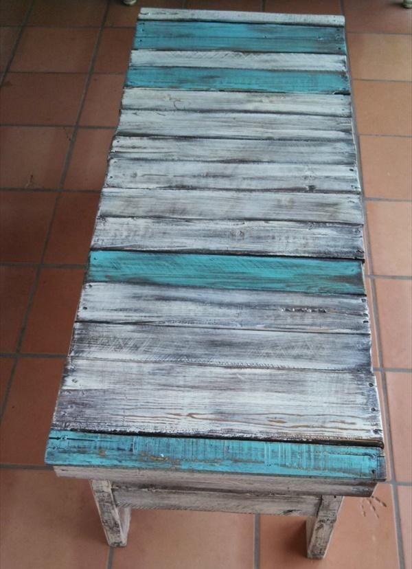 palet turquesa