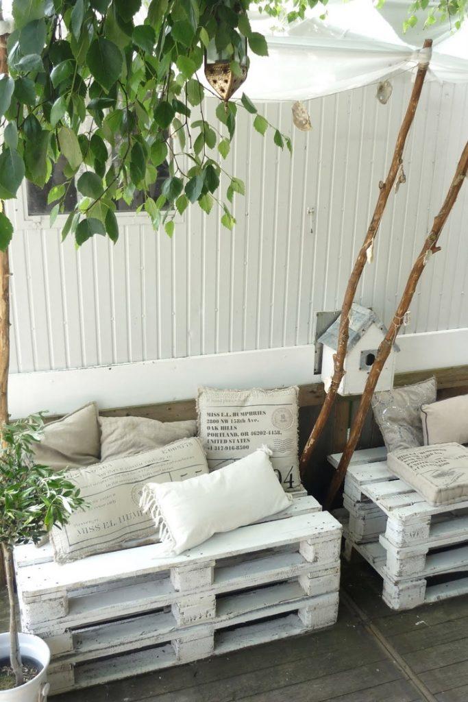 10 ideas inspiradoras para una terraza de ensue o i love - Ideas para palets ...