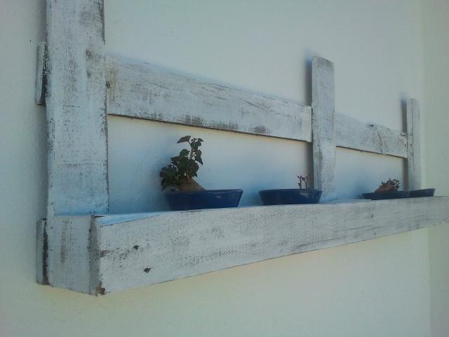 conjunto de terraza con palets
