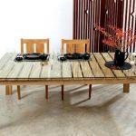 mesas de comedor de palet