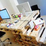 oficina con palets