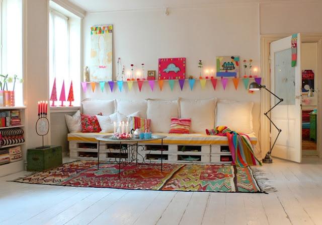 Espacios de juegos para ni os dentro de casa i love palets - Juegos de organizar casas ...