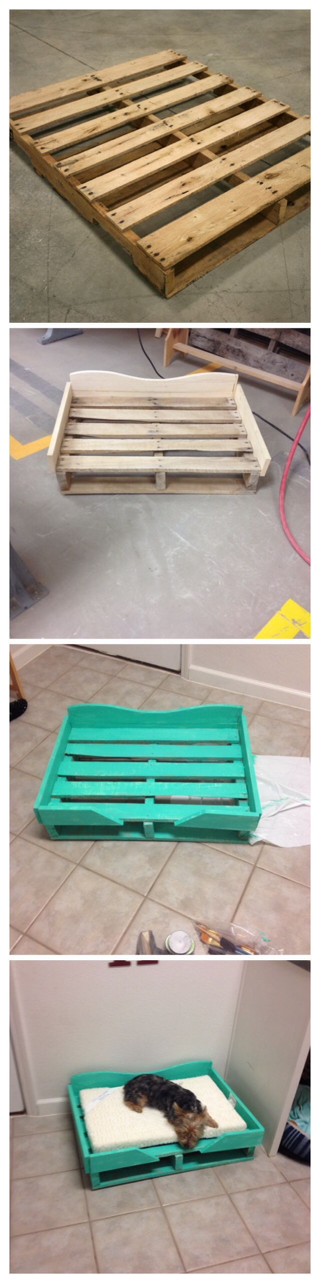 C mo hacer una cama para perro de palet paso a paso i - Como hacer una cama para perro ...