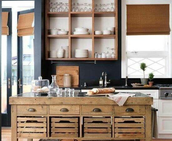 Propuestas de islas para la cocina con palets i love palets for Estilo moderno decoracion