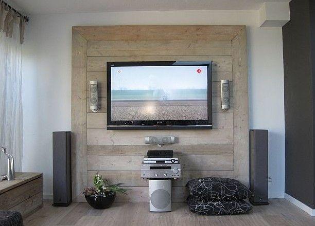 muebles de palets para la televisi n i love palets. Black Bedroom Furniture Sets. Home Design Ideas