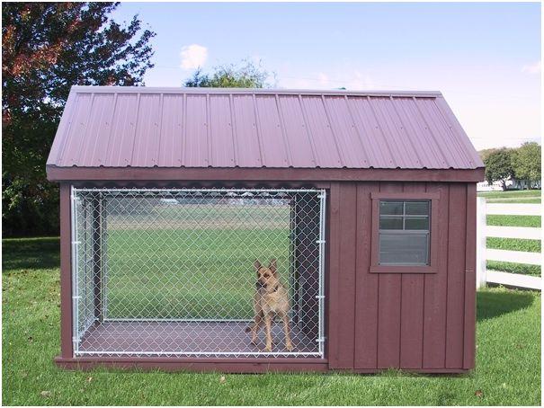 Propuestas de casas para perros hechas con palets i love for Casetas de jardin grandes