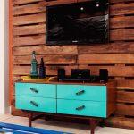 muebles de palets para la televisión