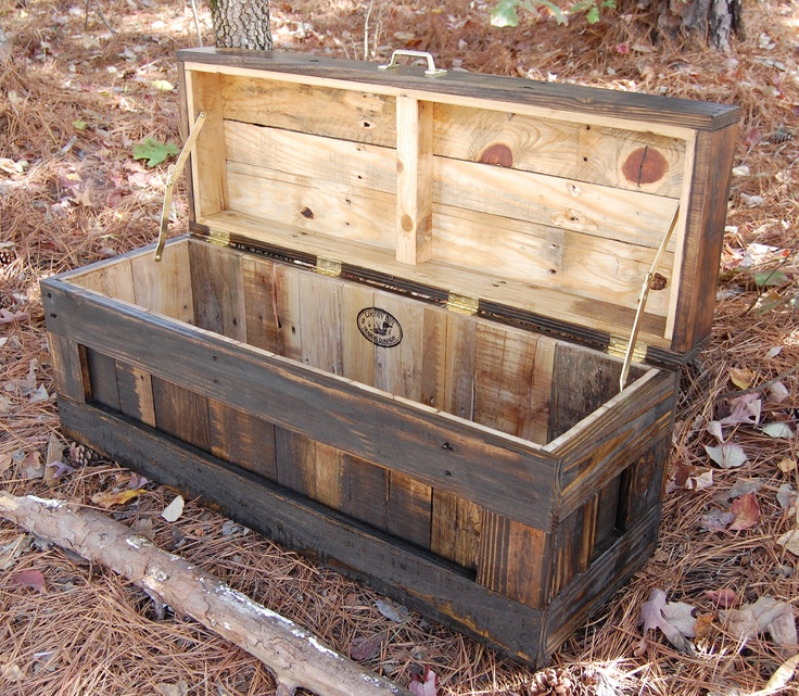 10 ideas de ba les de palets para almacenar tus cositas for Baul madera barato
