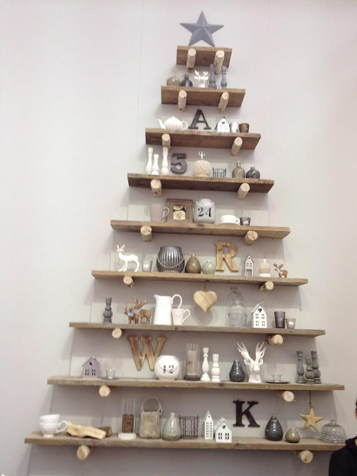 rboles de Navidad muy econmicos y originales con palets II I