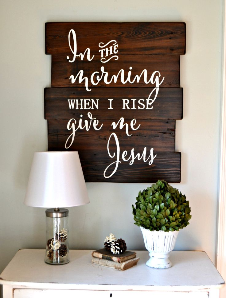Bedroom Decor Signs