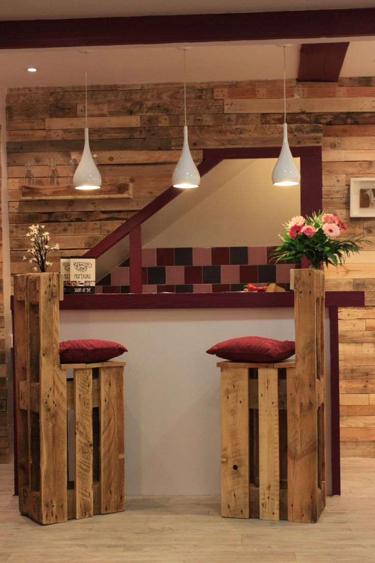 5 ideas de sillas de bar de palets i love palets - Ideas decoracion bar ...