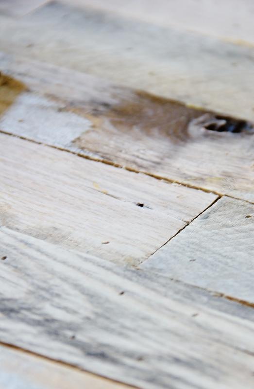 letras con madera de palet