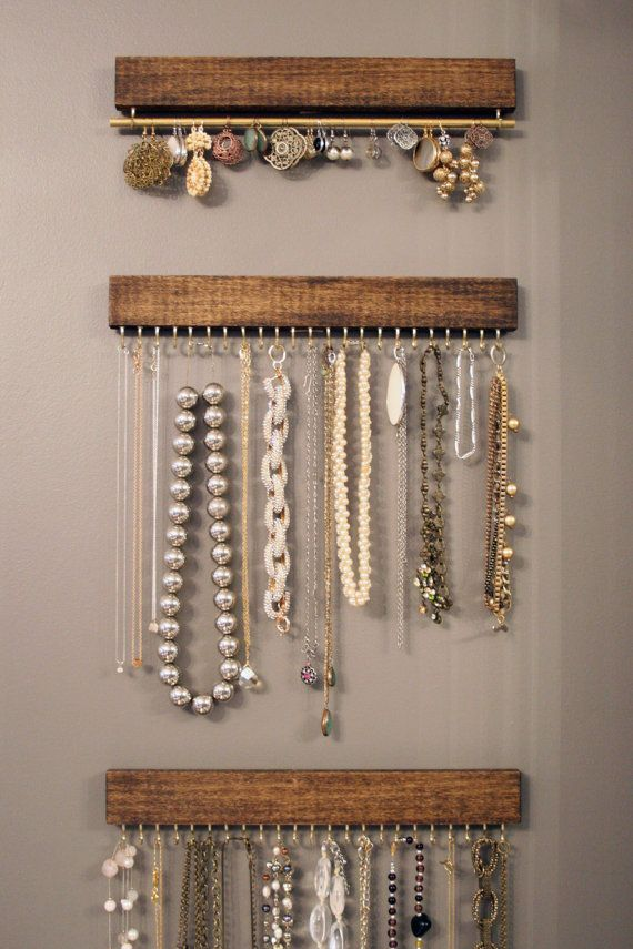 10 joyeros de palets para organizar tus cositas i love - Comment ranger ses colliers ...