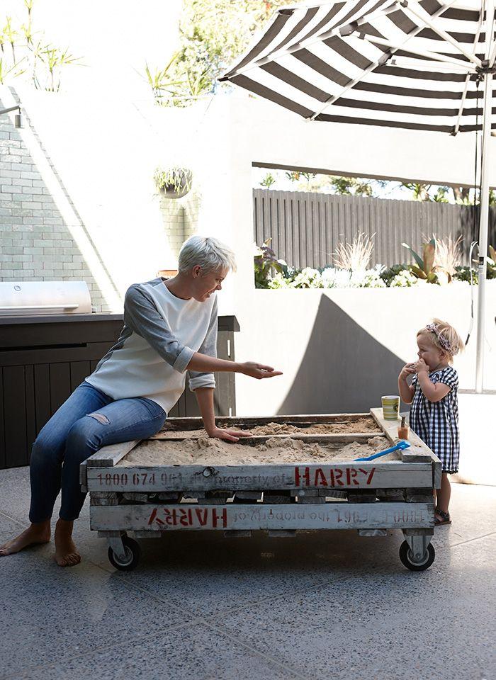 parques de arena para niños