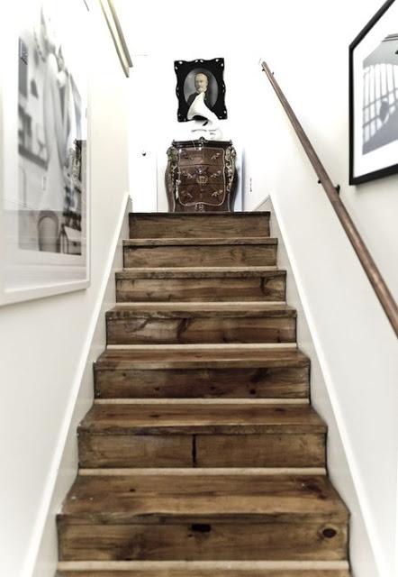 escaleras de palets