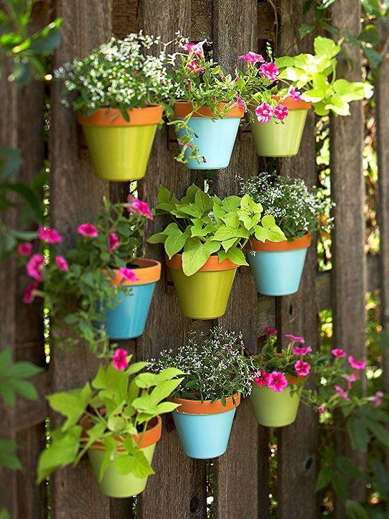 jardineras verticales de palets