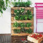 jardín vertical de palet paso a paso