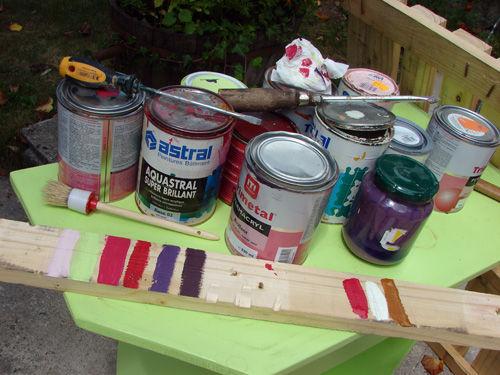 cómo hacer un perchero con palets paso a paso