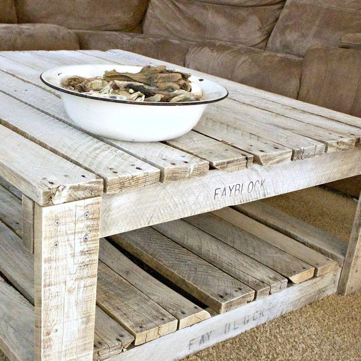 C mo dar un toque envejecido a cualquier mueble de palet - Pintura blanca para madera exterior ...