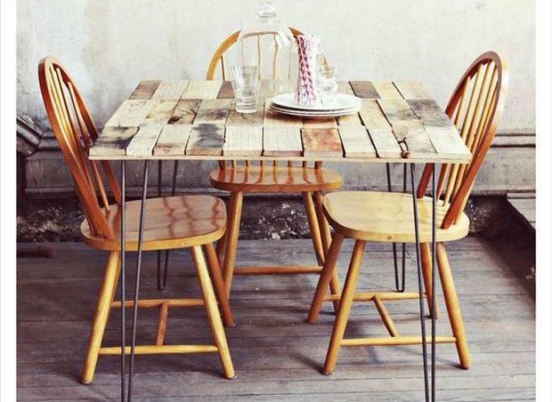 Cómo hacer una mesa de comedor con palets paso a paso – I Love Palets