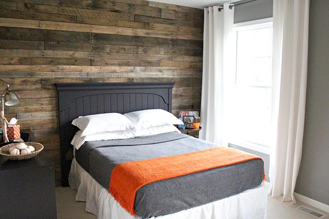 redecorar una habitación con palets