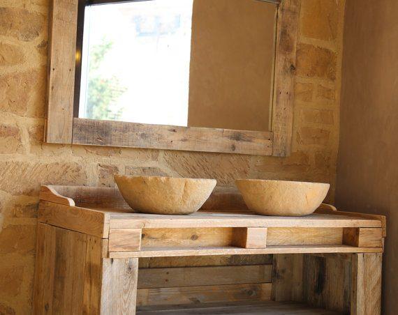 Un lavabo de palets espectacular i love palets for Muebles de bano con palets
