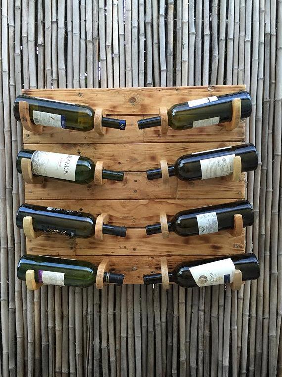 Organiza tus botellas con muebles de palets i love palets - Botelleros de madera rusticos ...