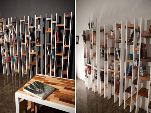 librerías de palets
