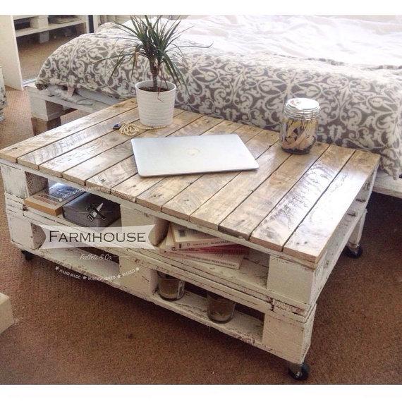 mesa de palets - Mesa Con Palets