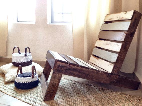Bancos y asientos de palet elegantes y decorativos i for Asientos para terrazas