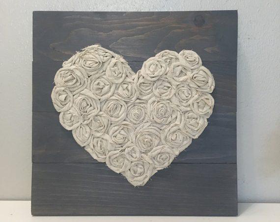 corazón de palet