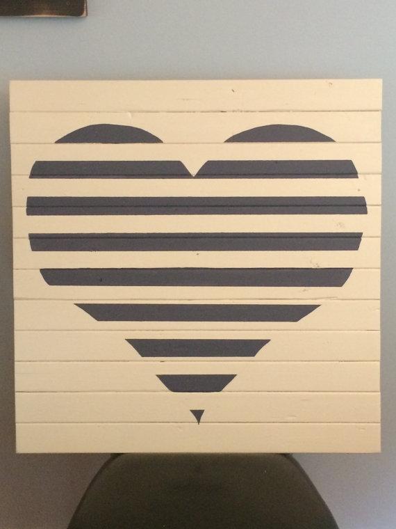 corazón de palets