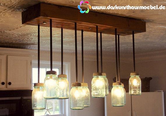 lámpara de techo de palet
