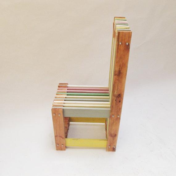 sillas de dise o hechas con palets muy trabajadas i love