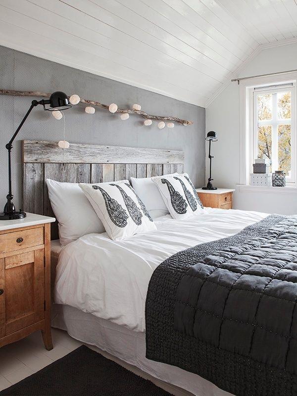 5 espectaculares cabeceros para la cama con marco hechos con madera ...
