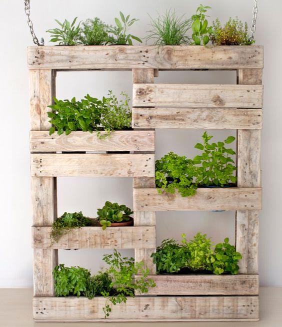 jardineras de palets