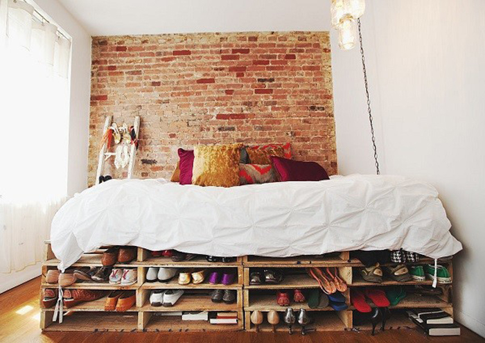 10 camas de palets que le dar n un toque moderno y - Camas de palets ...