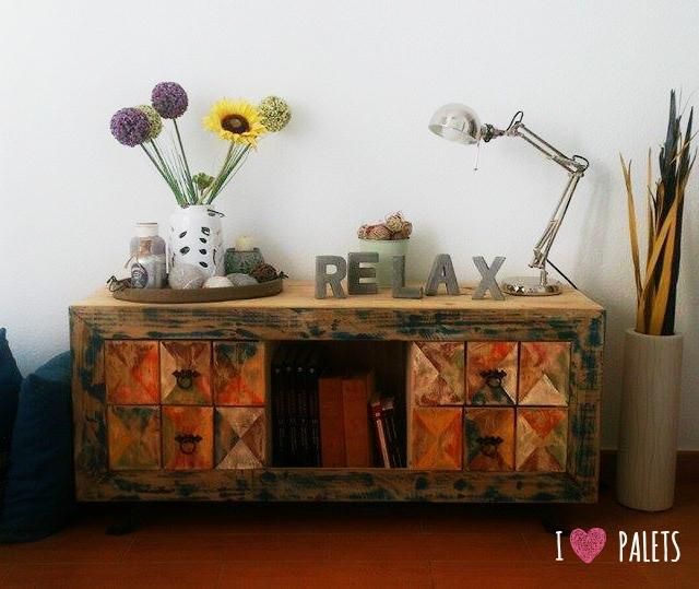 mueble de palet