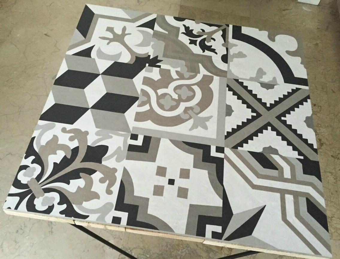 Muebles de palets decorados con azulejos hidr ulicos i for Que son los azulejos