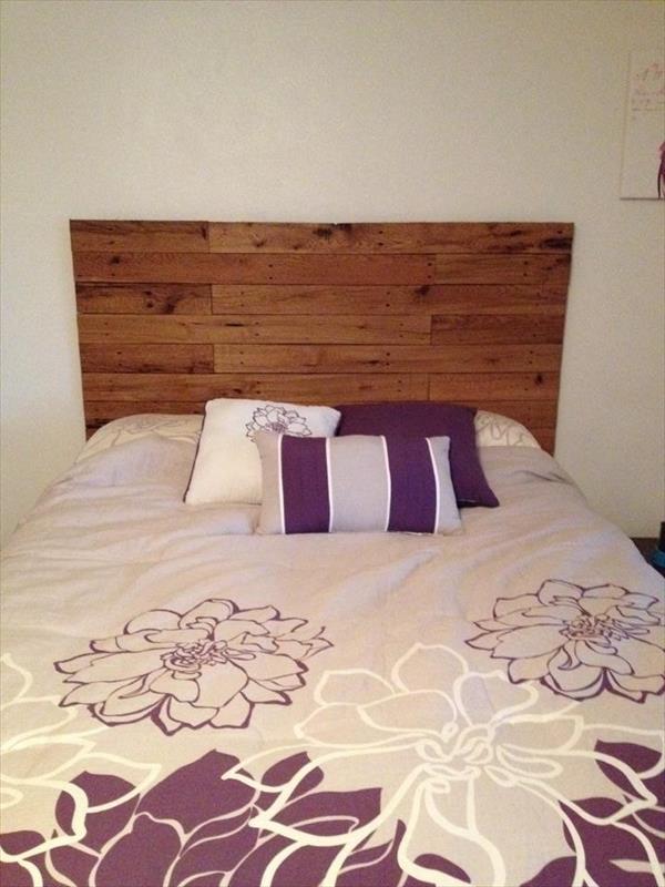 Insp rate con estos 10 sencillos cabeceros de camas hechos for Cabeceros de cama con palets