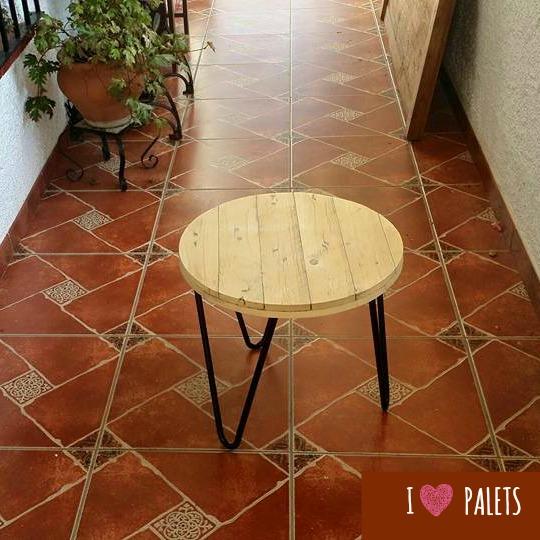 mesa de salón de palet