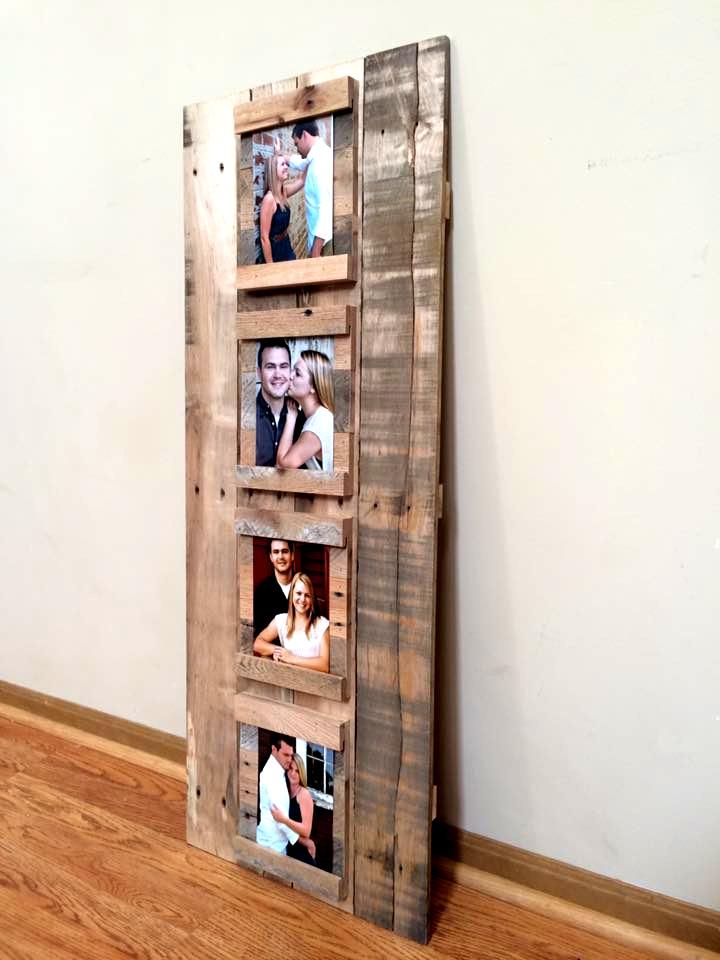 Un marco para fotografías hecho con palets, espectacular – I Love Palets